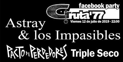 Gruta'77 Facebook Party