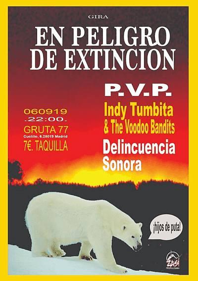 Peligro de Extinción Tour