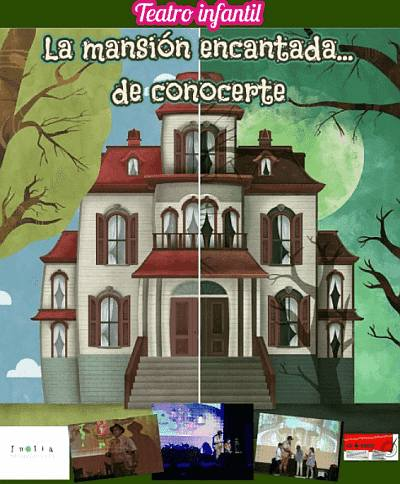 La mansión encantada