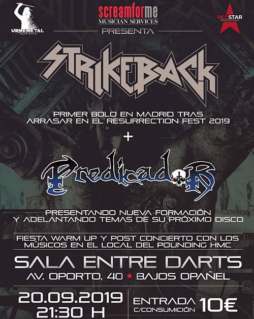 Strikeback + Predicador
