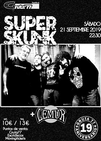 SUPERSKUNK + LEMUR