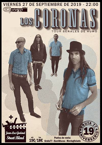 LOS CORONAS + JEAN–LUC GODARD STREET BAND