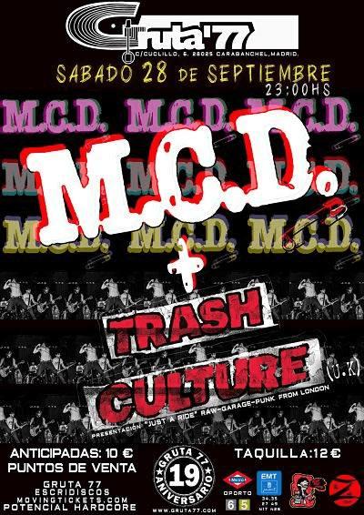 M.C.D. + TRASH CULTURE