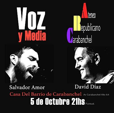 Salvador Amor y David Diaz