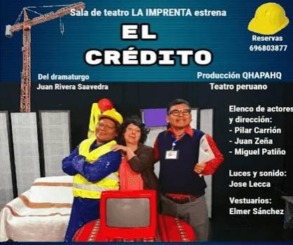 el credito teatro peruano
