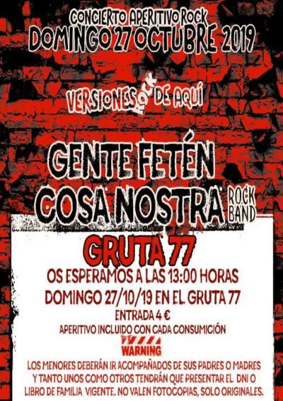 GENTE FETÉN + LA COSA NOSTRA ROCK BAND