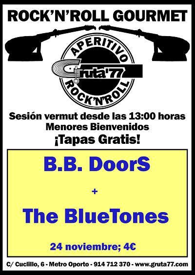 B.B. DOORS + THE BLUE TONE