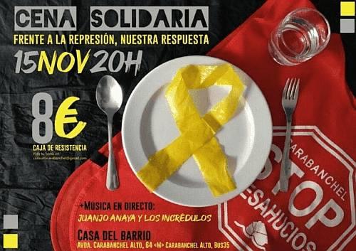 Música en directo y Cena Solidaria