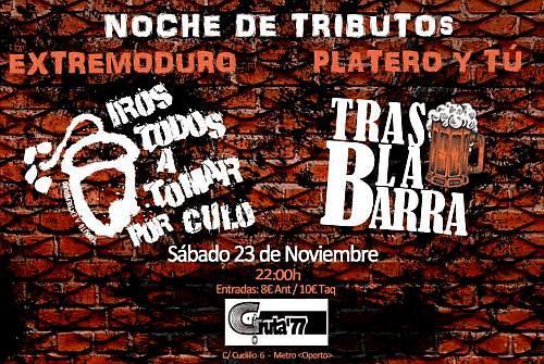 IROS TODOS A TOMAR POR CULO + TRAS LA BARRA