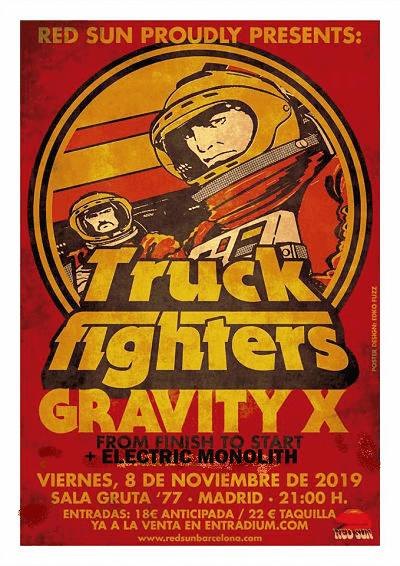 TRUCKFIGHTERS (Suecia) + ELECTRIC MONOLITH