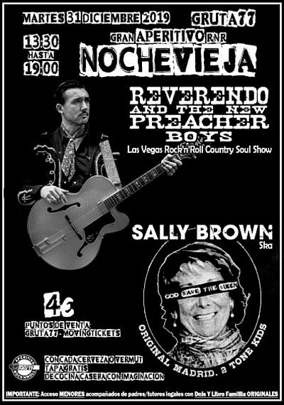 REVERENDO & THE NEW PREACHER BOYS + SALLY BROWN
