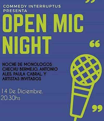 "Open Mic Night (""Commedy Interruptus"")"
