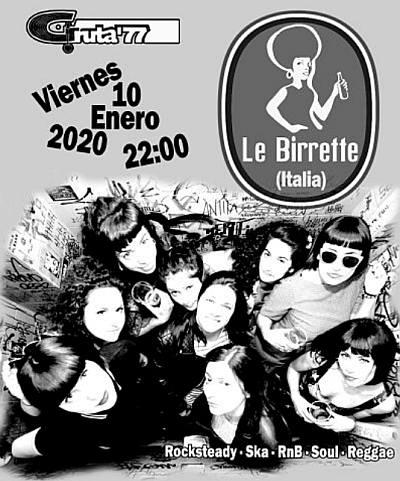 LE BIRRETTE (ITALIA) + STEADY ROCKERS