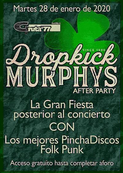 AFTER PARTY DROPKICK MURPHYS