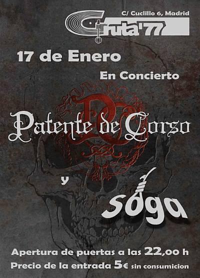 PATENTE DE CORSO + SOGA