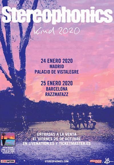 Stereophonics Gira Kind 2020