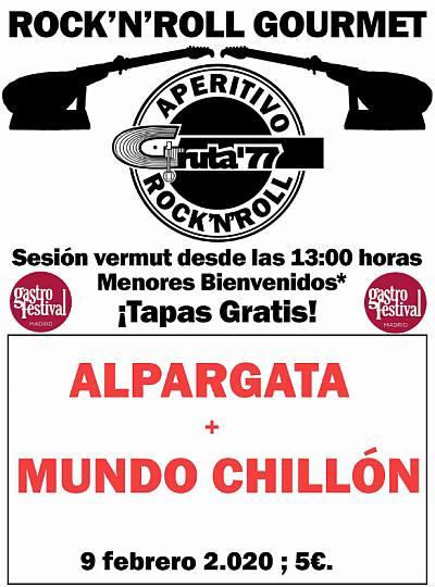 THE ALPARGATA + MUNDO CHILLÓN