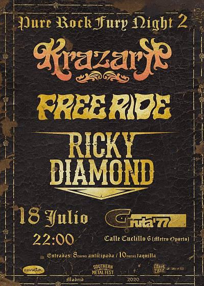 KRAZARK + FREE RIDE + RICKY DIAMOND